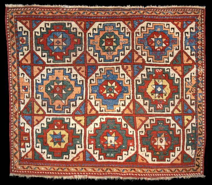 Antique Bergama Karakecili Rug